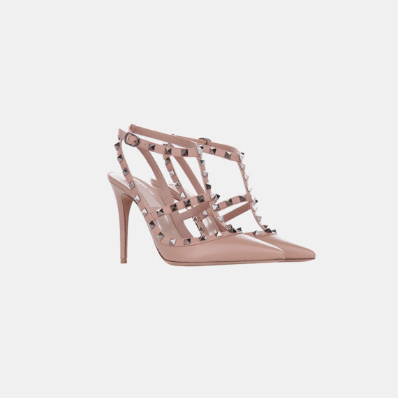 Stumped Heel Stiletto - Pink